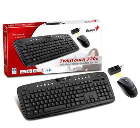 Комплект клавиатуры с мышкой Genius TwinTouch 720e
