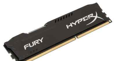 Модули памяти Kingston HyperX fury black 4Gb
