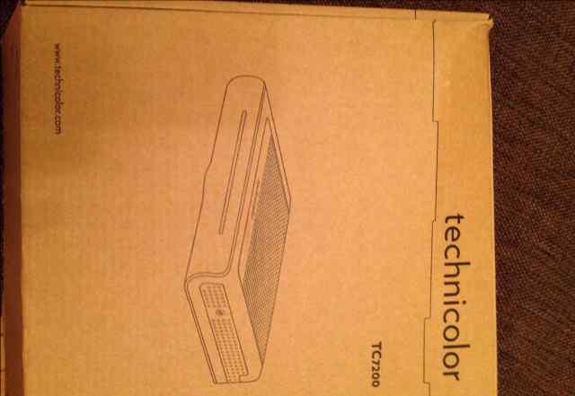 роутер technicolor TC7200 (акадо)