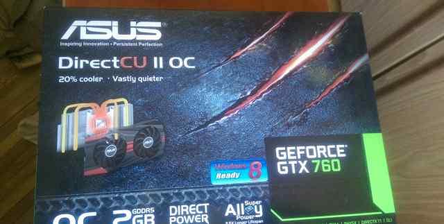 Asus GTX760 2GB dualdvi+ hdmi+ DP+ SP