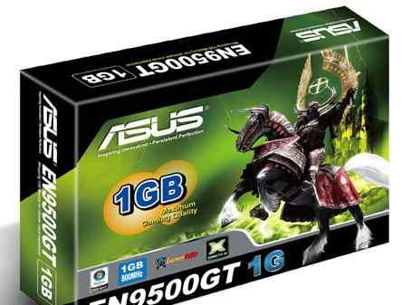 Видеокарта asus EN9500GT 1G