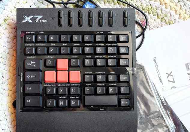 Игровая клавиатура A4Tech X7-G100