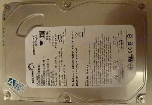 HDD SATA 160GB ST3160815AS