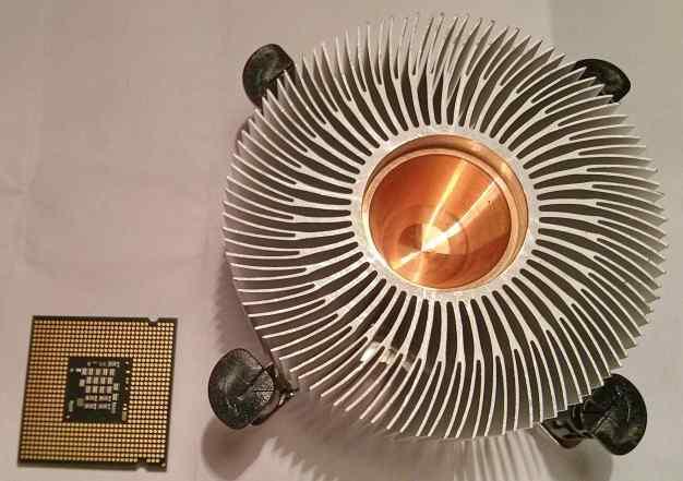 Процессор и радиотор для тихого домашнего сервера