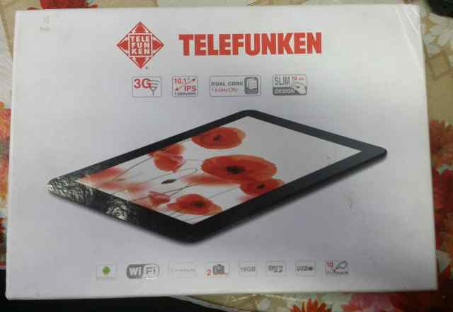 Продаю планшет telefunken TF-MID1002G б/у