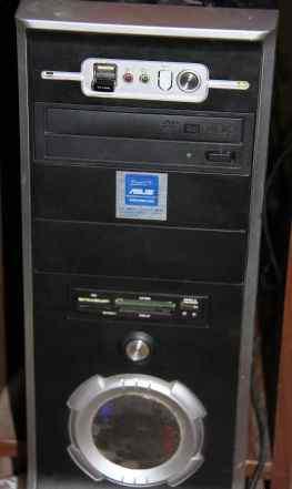 Системный блок в сборе 4ядра 4 гига с LCD мон.15