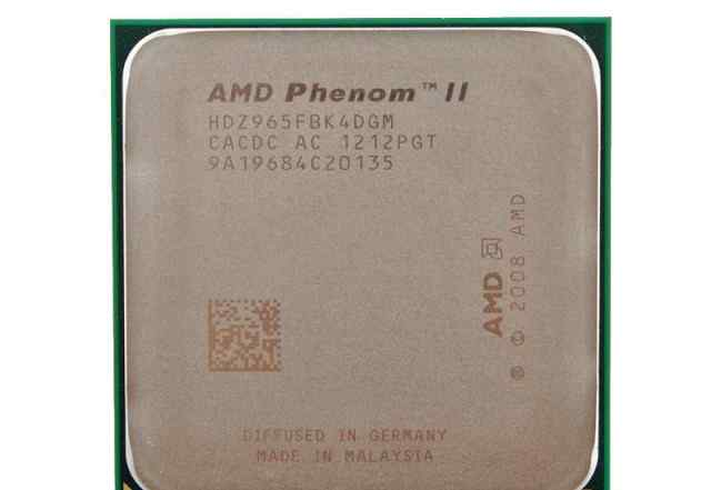 AMD Phenom II X4 Black Deneb 965