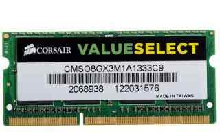 Corsair 8GB DDR3-1333 sodimm Notebook RAM