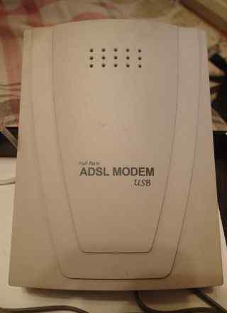 USB adsl modem (aus. linx) + сплиттер