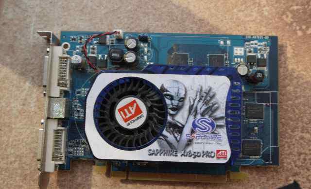 Видео карта Radeon Sapphire X1650PRO