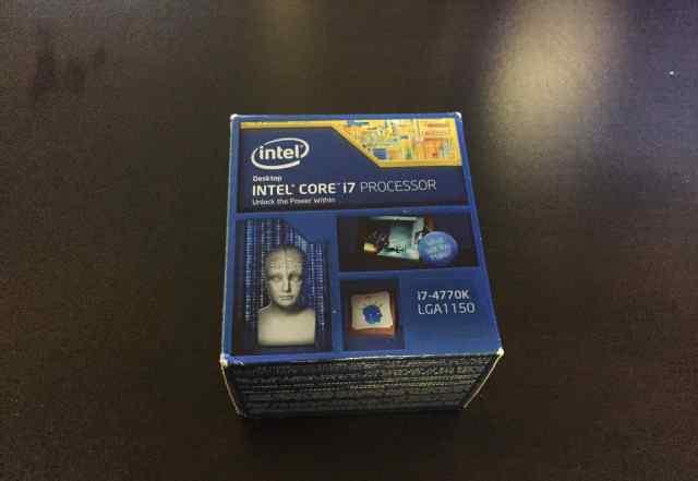 Intel Core i7-4770K новые-в коробках