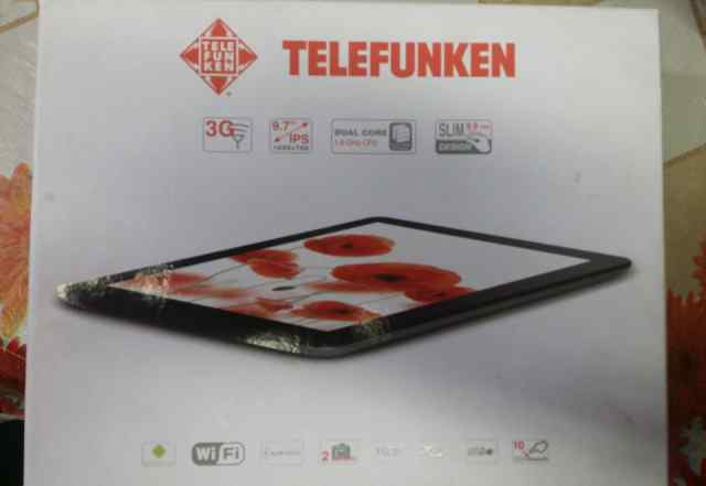 Продаю планшет telefunken TF-MID9704G б/у