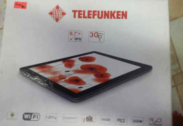 Продаю планшет telefunken TF-MID9701G б/у
