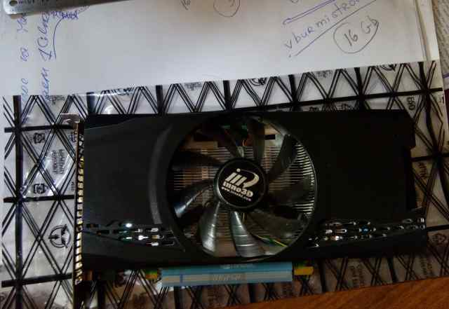 Видеокарта GeForce GTX460 1024 Мб gddr5 торг