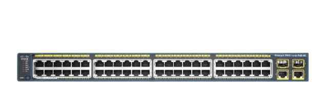 Cisco Catalyst 2960 48 10/100 PoE + 2 1000BT + 2 S