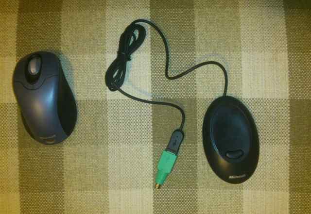 Беспроводная мышь Microsoft (новая)