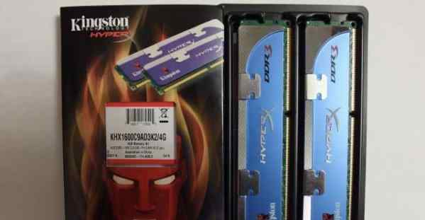 Kingston KHX1600C9AD3K2/4G