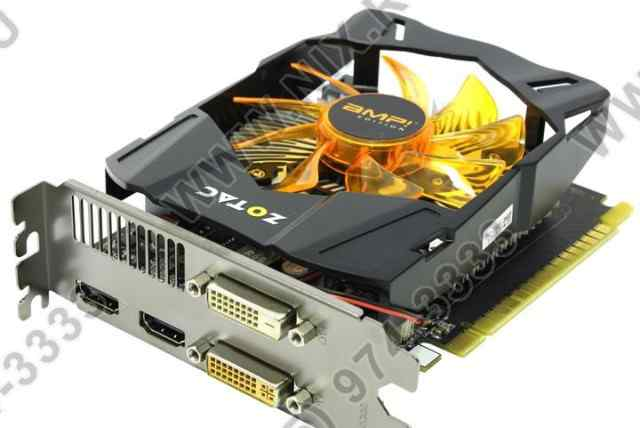 Видеокарта Zotac GeForce GTX 650 AMP Edition