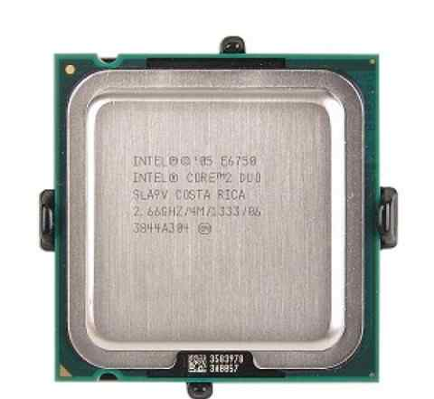 Intel Core 2 Duo E6750