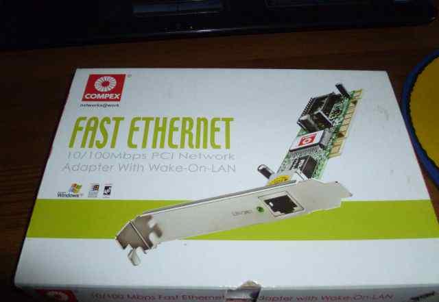 Адаптер fast ethernet новый