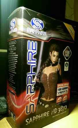 Видеокарта Sapphire ATi Radeon HD 3870 1Gb DDR4