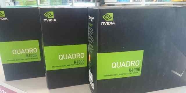 Quadro K4000 Профессиональная видеокарта