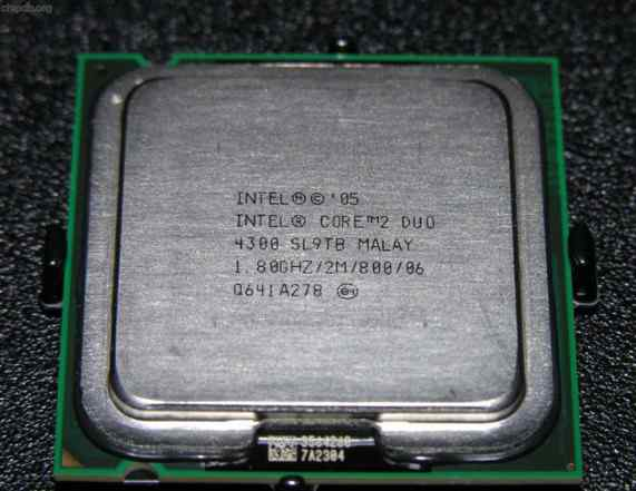 Intel Core 2 Duo E4300 1.80GHz