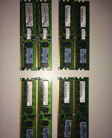 HP 512MB 1Rx8 PC2-3200R-333-11 память (345112-851)