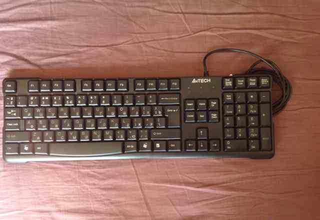 Проводная клавиатура A4Tech KR-750