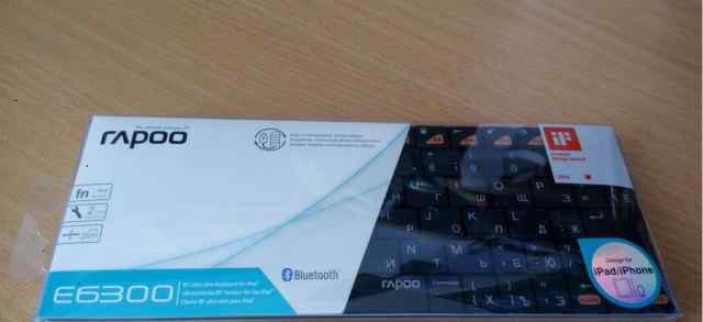 Bluetooth клавиатура Rapoo E6300 Black
