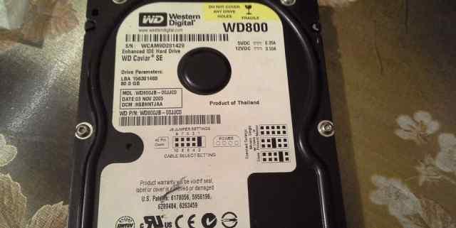 WD800 80GB