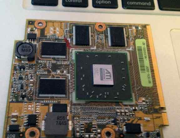 Видеокарта ATI Radeon HD3650-1GB для ноутбука