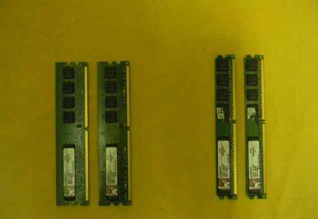 Kingston KVR800D2N5/1Gb и KVR800D2N5/512Mb