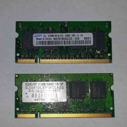 DDR2 SO-dimm 512MB 667MHz