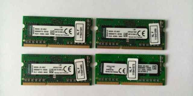 Для ноутбука, новая. Kingston KVR16LS6/2 DDR3 PC3