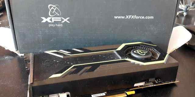 XFX GTS 250 быстрая холодная видеокарта