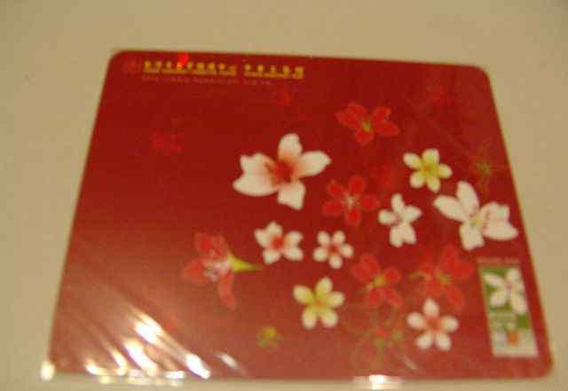 Коврик для мыши Тайвань красный
