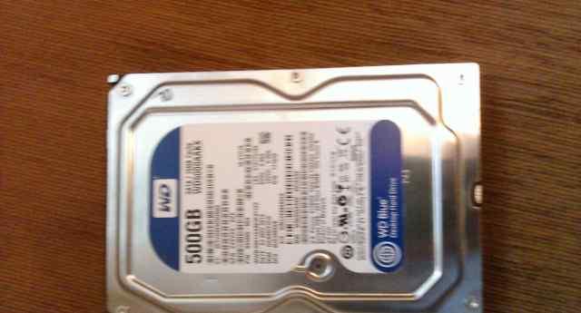 Жесткий диск HDD 500гб Western Digital Caviar Blu