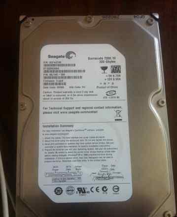 жесткий диск320gb Seagate Barracuda 7200.10