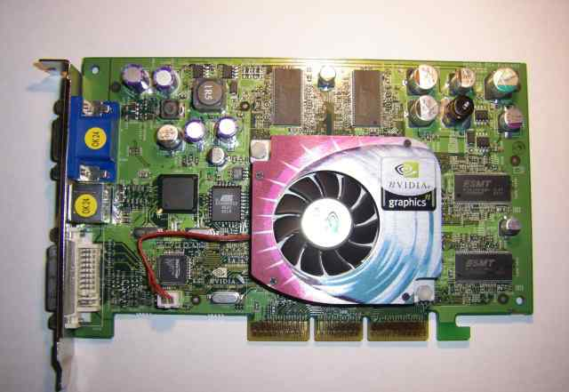 Видеокарта GeForce4 Ti 4200 / 128 mb / AGP8x