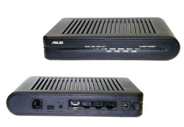 Asus AAM 6020 BI-Z2 - adsl модем