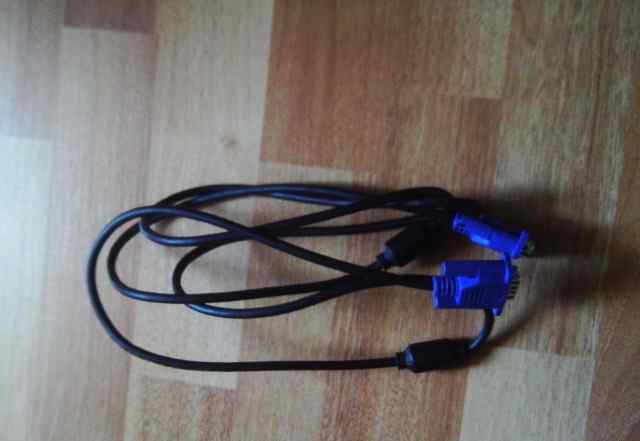 VGA-VGA кабель для монитора