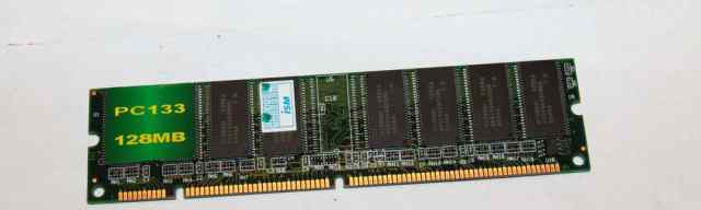 Оперативка dimm PC 133 128MB