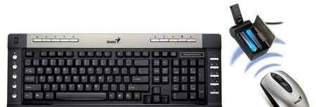 Комплект б/п клавиатура+ мышь Genius SlimStar R610