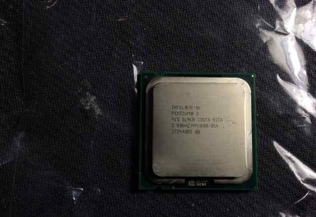 Intel Pentium D Processor 915 (4M Cache, 2.80 )