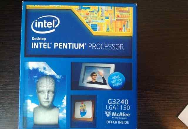 Процессор Intel G3240 box