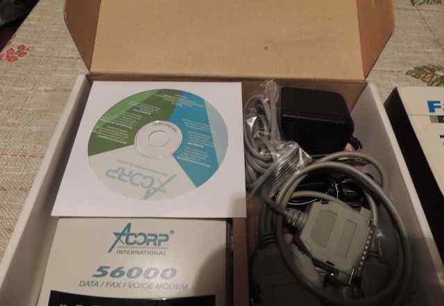 Модем. Fax Modem v92/v94 / Acorp / Sprinter56k