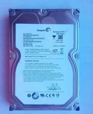 Seagate Baracuda 7200.11 ST31500341AS (1.5тб)