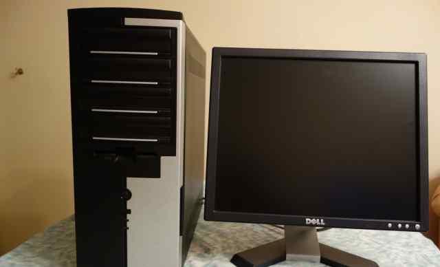 Монитор и операционный блок