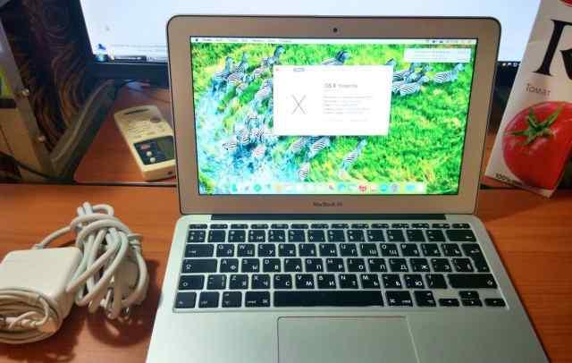 Macbook Air 11 mid 2011 максимальный